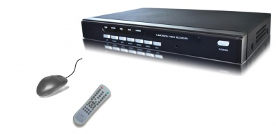 4 Channels Real-Time D1 Resolution record  CCTV DVR Stand Alone Internet & Mobile Phone Ready