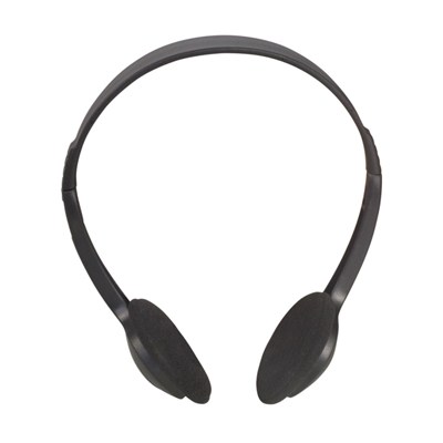 Lightweight Stereo Computer/TV Headphones