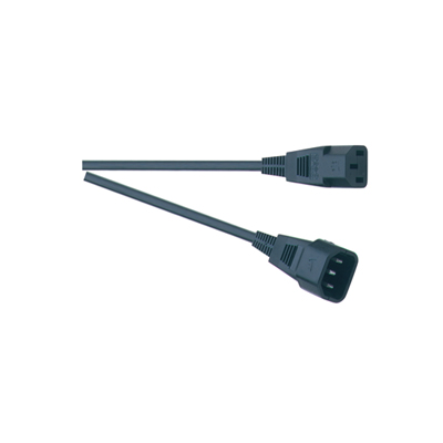 3 Pin IEC Line Plug to IEC Line Socket Extension Lead 10A