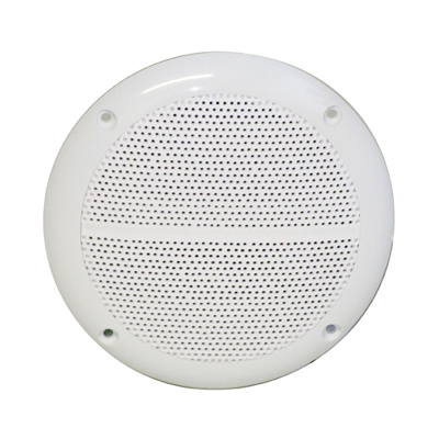 Round Ceiling Speaker With Moisture Resistant Cone 50W 4 Ohm