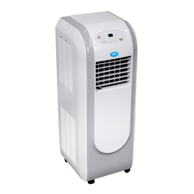 8000 BTU per hour Portable Air Conditioner with Remote Control and Timer