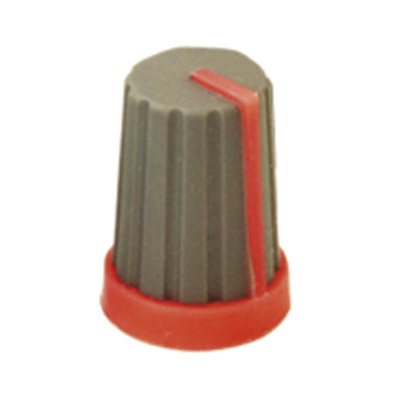 Rubber Touch Rotary Knob with Coloured Pointer