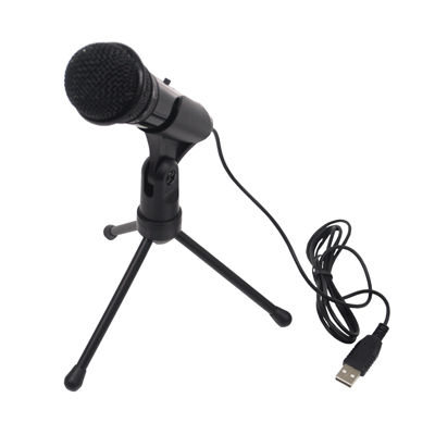 SoundLAB Condenser USB Microphone with Adjustable Stand