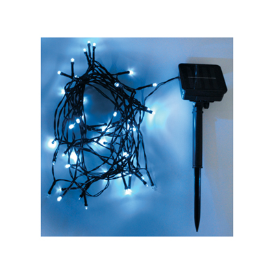 Eagle LED Solar Powered Outdoor String Lights 50 LED's 6m Length