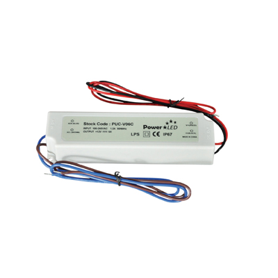 NJD 60W 24V 2.5A IP67 Rated Constant Voltage LED Lighting Power Supply