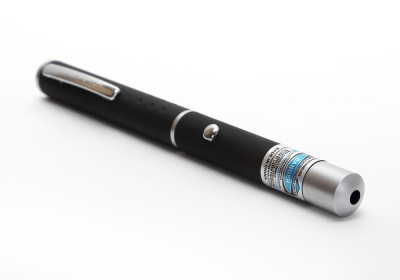 New 1mw Hi-Power Purple Laser Pointer Pen