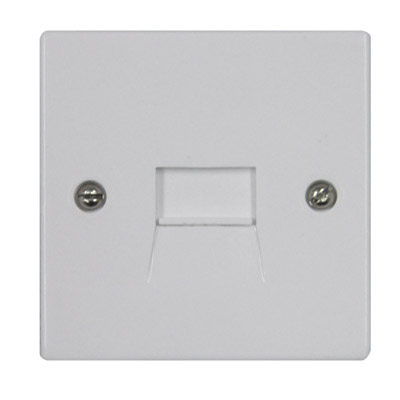 Compact Surface Mount Extension Socket with Screw Connections