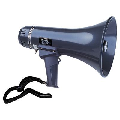 Eagle Handheld Megaphone With Volume Control and Siren 5W