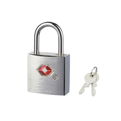 TSA Silver Padlocks (Twin Pack)