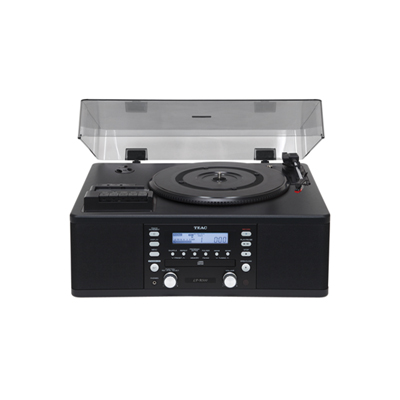 Teac LPR500 Turntable with CD burner, Cassette Tape Player, Vinyl Record Player and AM/FM radio.