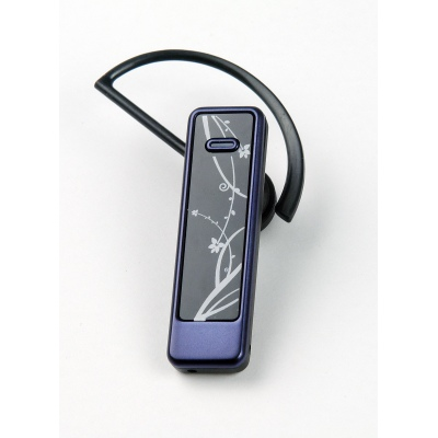 UTEL dual link light weight Bluetooth headset Blue