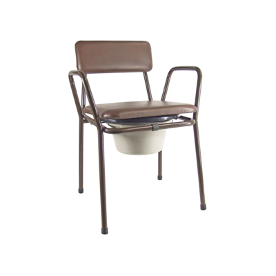 Kent Stacking Commode Chair