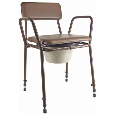 Essex Height Adjustable Commode Chair