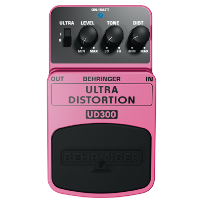 Behringer UD300 Ultra Distortion Guitar Effects Pedal