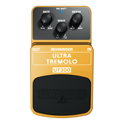 Behringer UT300 Ultra Tremolo Effects Pedal