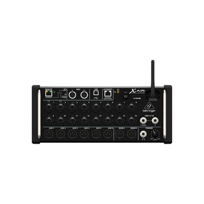Behringer X AIR XR18 18-Channel 12-Bus Digital Mixer for iPad/Android Tablets