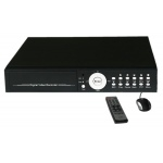 16 Channel H.264 Stand Alone CCTV DVR Fitted 1000GB (1TB) HDD With Smart Phone Access and Remote Control Black