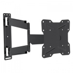 Dual Pivot Tilt & Swivel Curved TV Mounting Bracket 17-42""