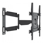 Dual Pivot Tilt & Swivel Curved TV Mounting Bracket 23-50""