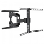 Dual Pivot Tilt & Swivel Curved TV Mounting Bracket 37-80""