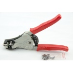 Auto Wire Stripper Crimper Plier Crimping Electricians Ratchet Action Tool