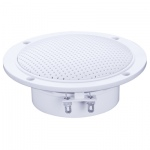 "e-audio 4"" Round Ceiling Speaker 60W With Moisture Resistant Twin Cone 4 Ohm"