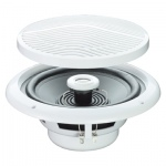 e-audio Round Ceiling Speaker With 2 Way Moisture Resistant Cone (SOLD AS PAIR)