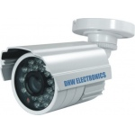 CCTV CCD Camera 550TVL High Resolution Weatherproof (IP66 standard) 30M IR Day & Night Colour