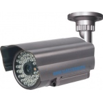 CCTV Camera CCD 550TVL High Resolution Weatherproof (IP66 standard) 40M IR Day & Night Colour
