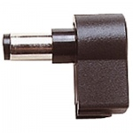 Plastic Right Angled DC Power Line Plug with 10mm Shaft