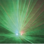 100 mW Red/50 mW Green  Duo Diffraction Laser