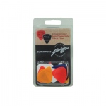 24 Assorted Colour Animal Themed Guitar Picks in Three Sizes