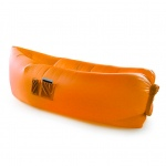 Inflatable Hangout Lounge Dream Chair Air Sofa Bag Outdoor Sleeping Lazy Bed--Orange