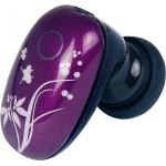 Mini Dual link noise reduction Bluetooth headset purple