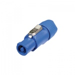 Neutrik Blue NAC3 FCA 3 Pole Female Powercon 20 A Mains Inlet Cable Connector