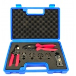 Professional Heavy Duty crimping tool kits for coaxial cable RG58 ,RG59, RG62
