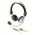Saitek (PH11)Communication Headset  with SOFT EAR CUSION, ADJUSTABLE MIC (BOXED)