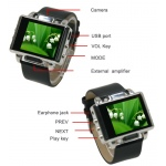 Spy  Digital watch 8GB with leather Strap