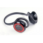 UTEL Stereo Bluetooth headset with build in MP3- Red