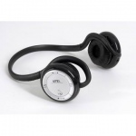 UTEL Stereo Bluetooth headset with build in MP3- Silver