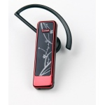 UTEL dual link light weight Bluetooth headset Red