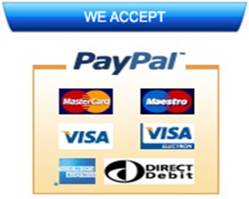 Secure Paypal Payments Accepted